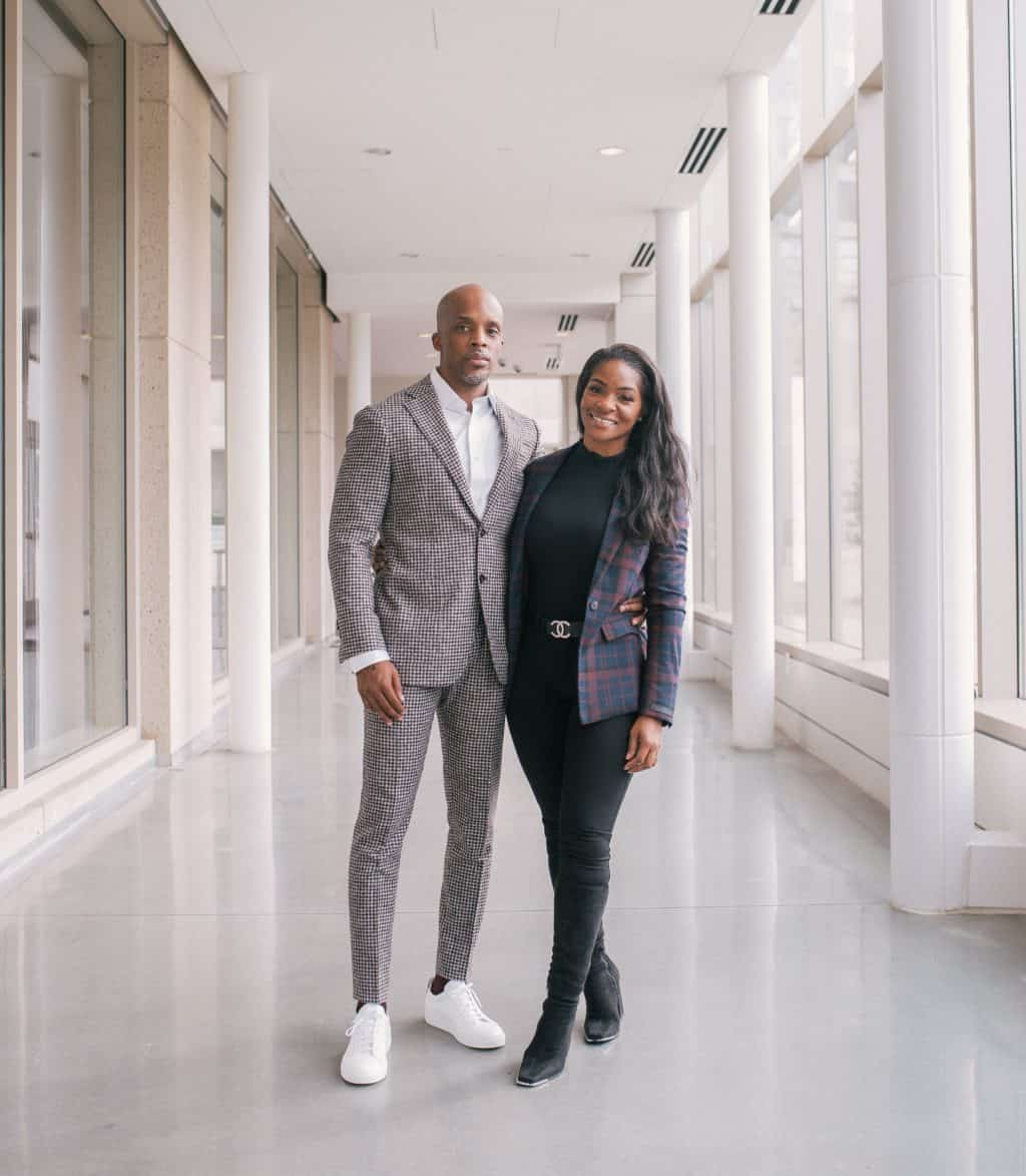 Chris and Tiffany Williams looking sharp